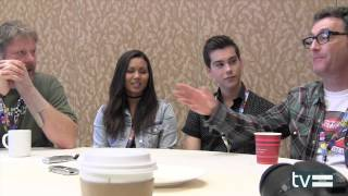 Adventure Time (2014): John DiMaggio, Olivia Olson, Jeremy Shada & Tom Kenny Interview