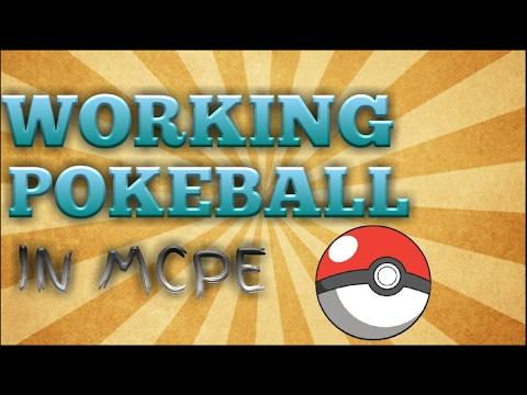 100% Working Pokeball in MCPE (NO MODS NO ADDONS)