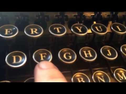How to polish old typewriter keys