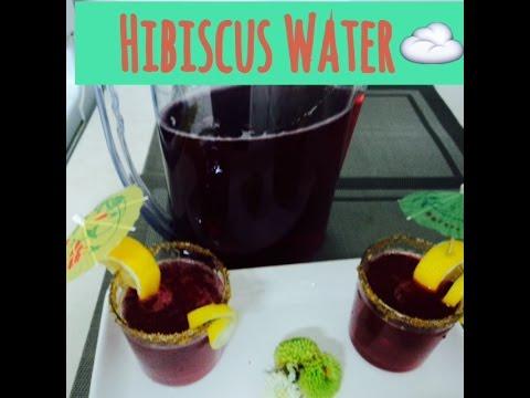 Hibiscus Flower Water - Agua de Jamaica