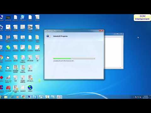how to uninstall office 2007 by somnathkumar11