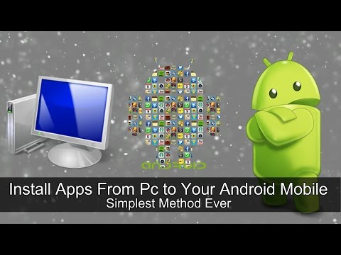 How to Install Apps From PC to android Mobile Via USB