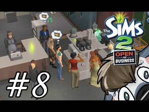 The Sims 2 Open for Business | Part 8 | Employees!