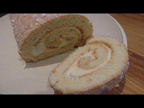 Lemon & Cream Cheese Swiss Roll