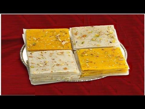 Bombay Ice Halwa Recipe Video - Kesari - Indian Recipes by Bhavna