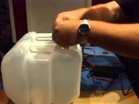 How to do it Yourself DIY and make a Water alkalinization ionization ionizer water sytem unit