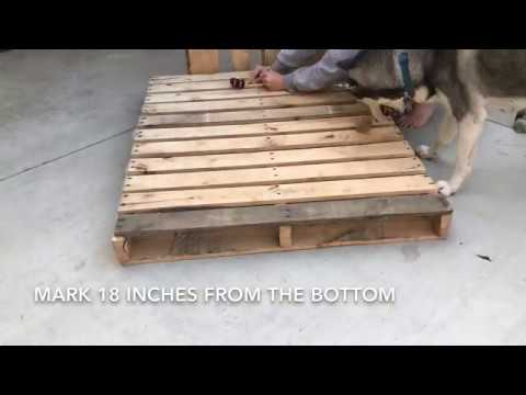 DIY EASY PALLET BENCH