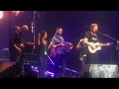 Ed Sheeran Nancy Mulligan Live in