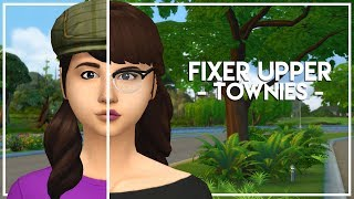 ANNOUNCEMENT + The Sims 4 Townie Makeover // SIOBHAN FYRES 🌺
