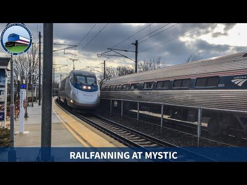 Trains At Mystic