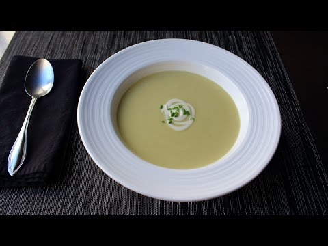 Potato Leek Soup Recipe - How to Make Vichyssoise