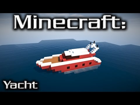 Minecraft: Small Yacht Tutorial 8