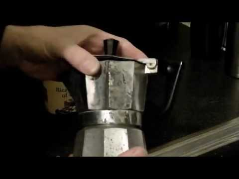 Stovetop Moka Espresso pot, cleaning and deoderising