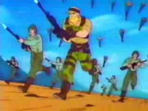 G.I.Joe 1989 Operation Dragonfire Intro - English (USA-CANADA)
