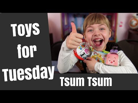 Princesses Open Tsum Tsum Blind Bags: Toys for Tuesday