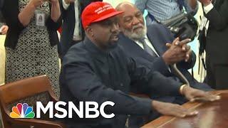 Velshi And Ruhle Break Down Kanye West's Meeting With President Trump | Velshi & Ruhle | MSNBC