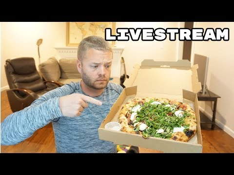 Pizza and Video Games Spring Break Livestream