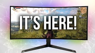 LG Unveiled My New GAMING Monitor!