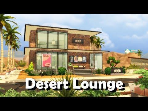 Sims 4 | House Building | Desert Lounge