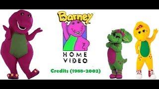 Barney Home Video Credits (1988-2002)