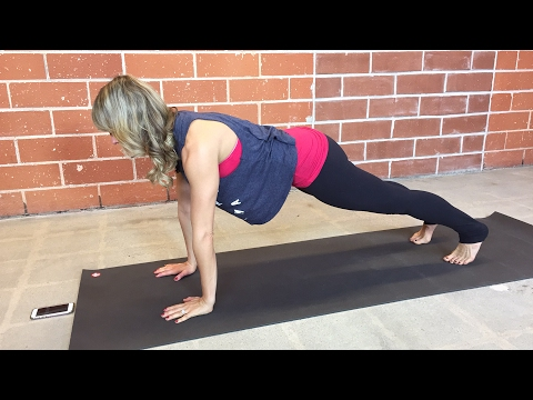 Come plank! It engages more muscles than crunches or sit ups. Plus it burns more calories!!