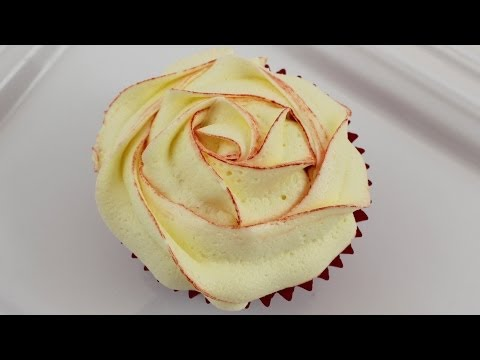 #19 Two Tone Roses - How to Make Ombre Rose Cupcakes