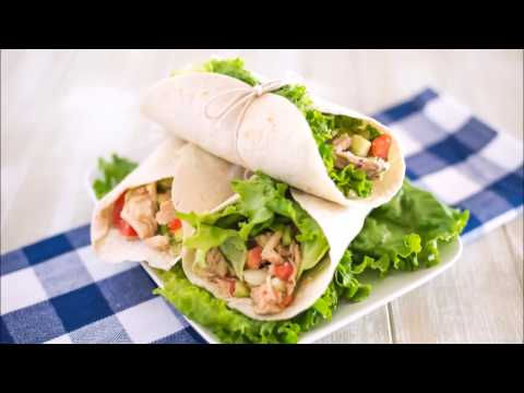 Low Carb Tuna Avocado Wraps