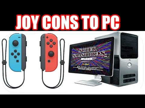 How to CONNECT Your Nintendo Switch JOY-CONS To Your COMPUTER! ! (Straight to the Point Tutorials)