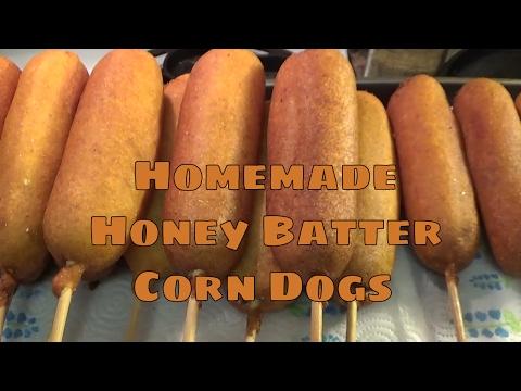 Homemade Honey Batter Corn Dogs Recipe