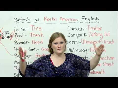 British & American English: Cars & Driving Vocabulary