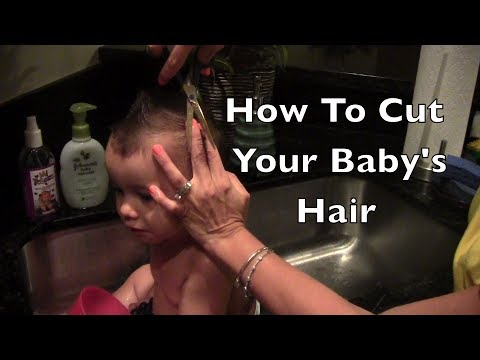 How to cut your baby's hair (Highly Requested)