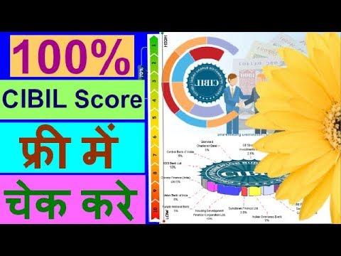 How To Check CIBIL Score Online ll Cibil Score Check Free