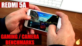 Redmi 5A - Redmi 4a Differences, Redmi 5A Gaming, Benchmarks Camera Test