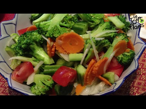 Easy Salad Dressing in 20 sec (Low Cal, Fat Free, Oil Free, Vegan) - One Minute Recipes