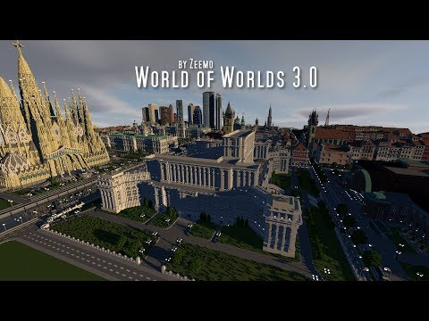 Minecraft | World of Worlds 3.0