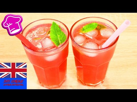 Watermelon smoothie recipe – easy drinks to make at home – refreshing drinks for summer