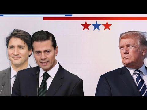 Canada, Mexico and E.U. leaders vow to retaliate for U.S. tariffs