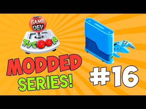 MAKING MY OWN CONSOLE - Game Dev Tycoon Modded #16