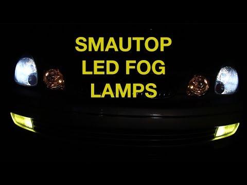 Smautop 9006 LED Fog Light Review - Lexus GS