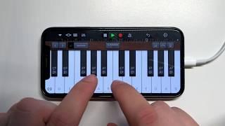 Y2K, bbno$ - Lalala on iPhone (GarageBand)