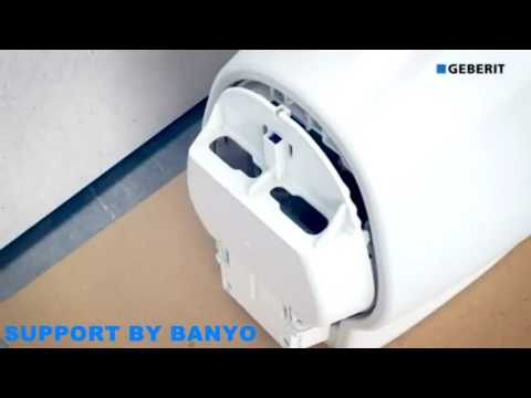 Geberit Sigma50 touchless Urinal Plate Installation