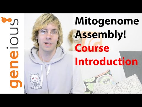 Course Introduction - Mitogenome assembly with HiSeq data (Part 1)