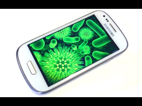 How to find virus in mobile in Hindi