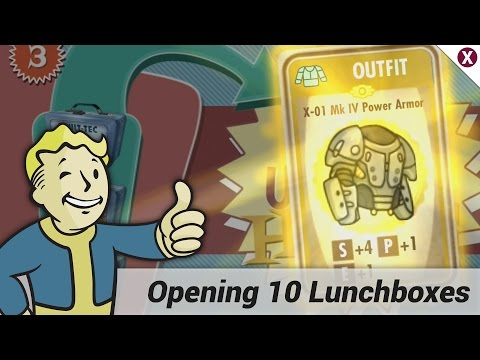 Fallout Shelter: Opening 10 Lunchboxes
