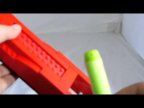 My first lego nerf gun