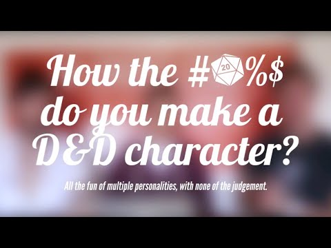 Creating a Character in D&D 5th Edition