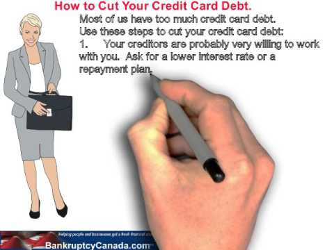 How to cut your credit card debt.