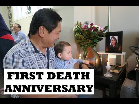 MOM'S FIRST DEATH ANNIVERSARY