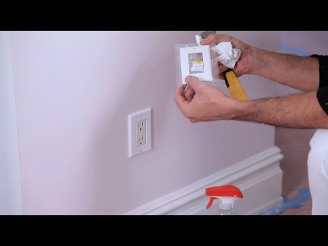 How to Remove Electrical Plates | House Painting