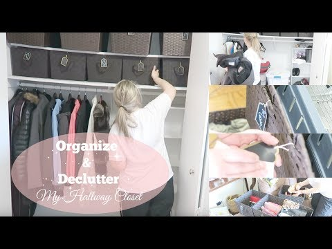 How To Organize Small Space Closet :  ORGANIZATION AN DECLUTTERING WITH KAT
